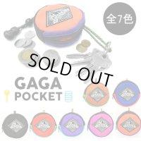 GAGAPOCKET/ガガポケット/mini/ポーチ/キーリング/小銭入れ/コインケース