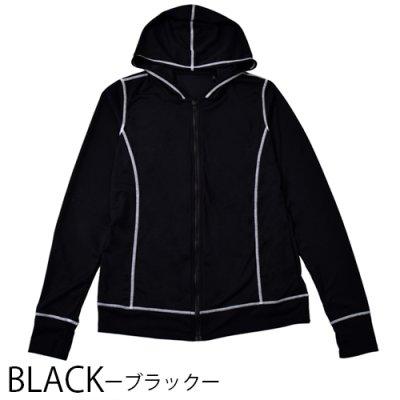 【カラバリ2色】LIPCROWNオリジナルメンズパーカー/ラッシュガード【水濡れOK!UVケア!】